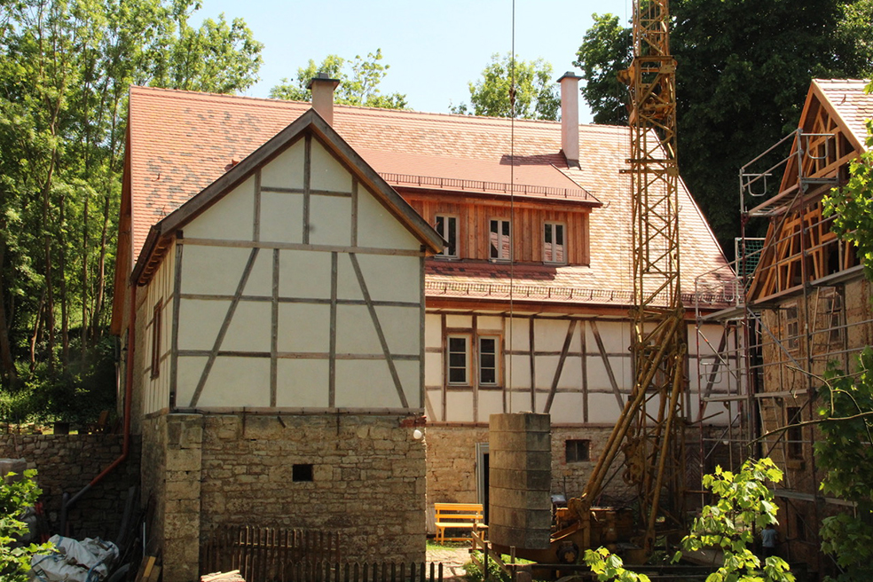 Niedermühle Kapellendorf 2018